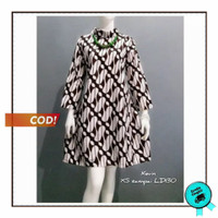 Tunik Parang - Blus Batik - Tunik Batik - Atasan Batik Wanita BK21