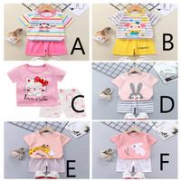Setelan Anak Perempuan Import - Baju Bayi 6-12 Bulan