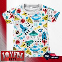 Baju / Kaos Atasan Anak Laki-laki Variasi Pesawat 1 - 10 Tahun