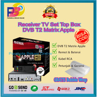 Set Top Box DVB T2 Matrix Apple
