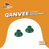 Qanvee Sucker Replacement 1 pc / Dop Kaca Aquarium / Dop Tempel Kaca