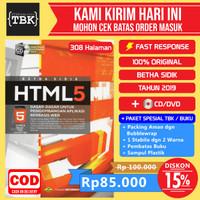 Buku HTML5 Dasar Dasar Untuk Pengembangan Aplikasi Berbasis Web PlusCD