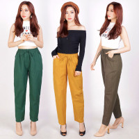 Celana Panjang Wanita Baggy Pants Standart Jumbo Big Size