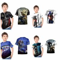 Baju Anak Laki Laki Transformers Optimus Prime Printing