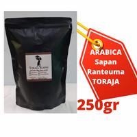 Kopi Arabika Toraja Sapan Specialty   ASLI! TORAJA !! - KASAR, 250 gr