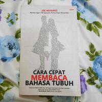 Cara Cepat Membaca Bahasa Tubuh Joe Navarro Buku Psikologi