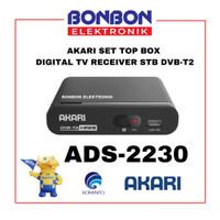 Akari Set Top Box ADS-2230 Digital TV Receiver STB DVB-T2