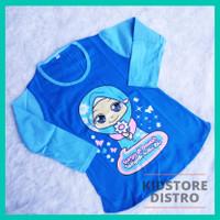 Baju Anak Islami / Kaos Anak Perempuan Lengan Panjang / Yuk Sholat