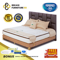 SPRING AIR SPRINGBED Nature's Comfort (Solace Essence) FULL SET - 160 x 200