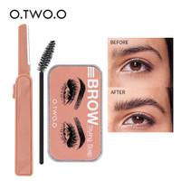 O.TWO.O 3D Eyebrow Styling Soap Makeup Kit Waterproof Brow Gel Lasting