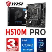 Mainboard MSI H510M Pro LGA 1200 Intel Gen11, Gen10, DDR4, Intel H510