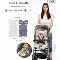 Bantal duduk stroler bayi /alas stroler omiland/Bantalan kursi bayi