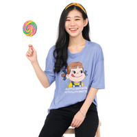 Monellina KEELA Baju Kaos Atasan XXL Jumbo Lengan Pendek Wanita