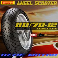 PIRELLI ANGEL SCOOTER 110 70-12 BAN MOTOR TUBELESS VESPA MATIC SPRINT