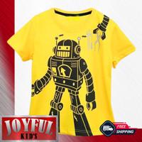 Baju / Kaos Atasan Anak Laki-laki Robot 1 - 10 Tahun