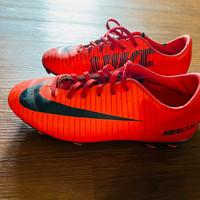 Sepatu Bola Nike Mercurial Merah Original