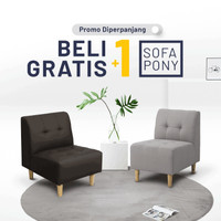 -BUY 1 Get 1 FREE! - Sofa PONY 1Dudukan