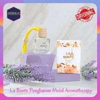 LaBonte Parfum Pewangi Pengharum Mobil Gantung Mewah Aromatherapy - lavender