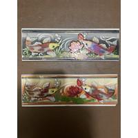List Keramik Dinding 8x25 Lis Plint Lustro Motif Ikan