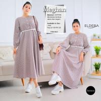 MEGHAN LONG TUNIK ORI BY ELDERA (member of Shofiya) - Brown