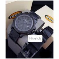 Jam tangan pria fashion fossil paket tali kulit BOX ORIGINAL