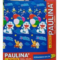 Selimut Bonita Paulina uk 160x200 motif Doraemon Balon