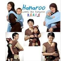 PRELOVED! HANAROO BABY WRAP / GENDONGAN ANTI PEGAL