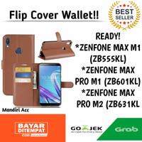 FLIP COVER WALLET ASUS ZENFONE MAX M1/PRO M1/PROM2 KANCING SARUNG BUKU