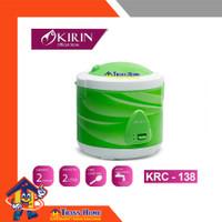KIRIN KRC 138 Rice Cooker Magic Com 3 in1 isi 2L GREEN 8994864007270