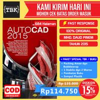 Buku Autocad 2015 2&3 Dimensi - Edisi Revisi Terbaru