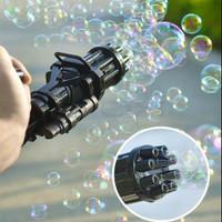 Mainan Balon Sabun Gatling Bubble Gun - Hitam