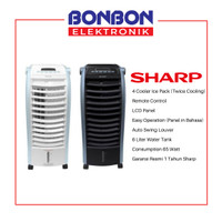 Sharp Air Cooler PJ-A36TY-B/W / PJA36TY / PJA36TYB / PJA36TYW - Hitam