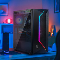 MSI MAG VAMPIRIC 100L TEMPERED GLASS PC CASE GAMING CHASSIS
