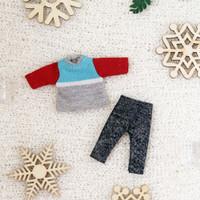 Nendoroid outfit / Kaos dan celana nendoroid doll / Nendoroid baju