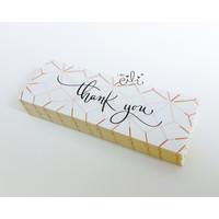 (SN027) Stiker MINI Thank You GOLD