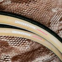 Ban Luar Sepeda Bridgestone LongRead XT 26x1 3/8 TanWall MTB Citybike