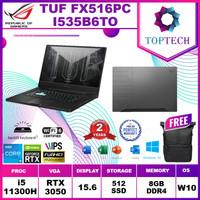Asus TUF FX516PC I535B6TO RTX3050 4GB i5 11300 8GB 512ssd W10+OFFICE
