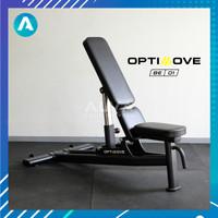 [BE-01] OPTIMOVE Adjustable Bench - Bangku Gym Bench Press