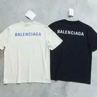 Kaos Tshirt BALEN CIAGAAA Oversize Simple Logo Print