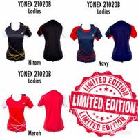MURAH Baju Jersey Badminton Wanita Cewek Yonex 21020B Grade Ori Import