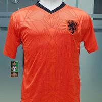 jersey kaos bola remaja anak tanggung belanda orange euro