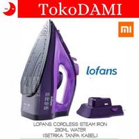 Lofans Cordless Steam Iron Setrika Uap 2000W By Xiaomi Youpin