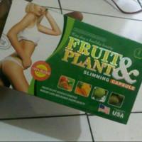 fruit and plant slimming capsule original obat herbal pelangsing badan