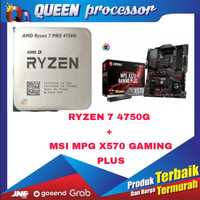 Processor AMD Ryzen™ 7 PRO 4750G 3.6GHz+MSI MPG X570 Gaming Plus