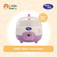 Baby Safe LB010 Digital Steam Cooker 0,8 L Pengukus Makanan Bayi