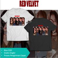 T-Shirt Red Velvet Kaos Photo Cover Irene Seulgi Wendy Joy Yeri