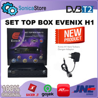 Set Top Box EviniX H1 DVB-T2 New Generation 2021 FREE HDMI