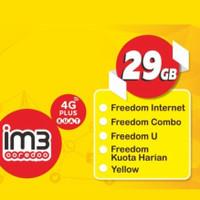 Kartu Perdana Indosat 29GB + Telepon
