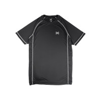 Coop Design - Hammer Kaos Olahraga Pria (Sport Shirt / Baju Olahraga) - Hitam Raglan, M