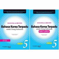 bahasa Korea Terpadu Untuk Orang Indonesia 5(1paket)